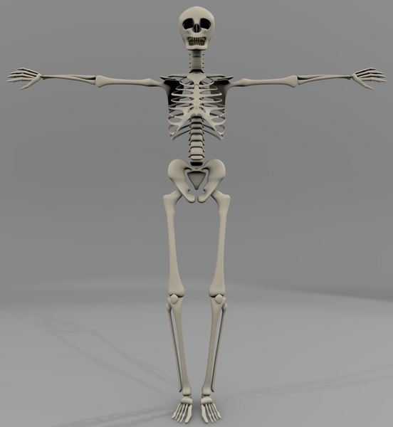 free 3ds mode skelton