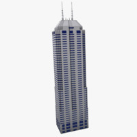 3d tall skyscraper model