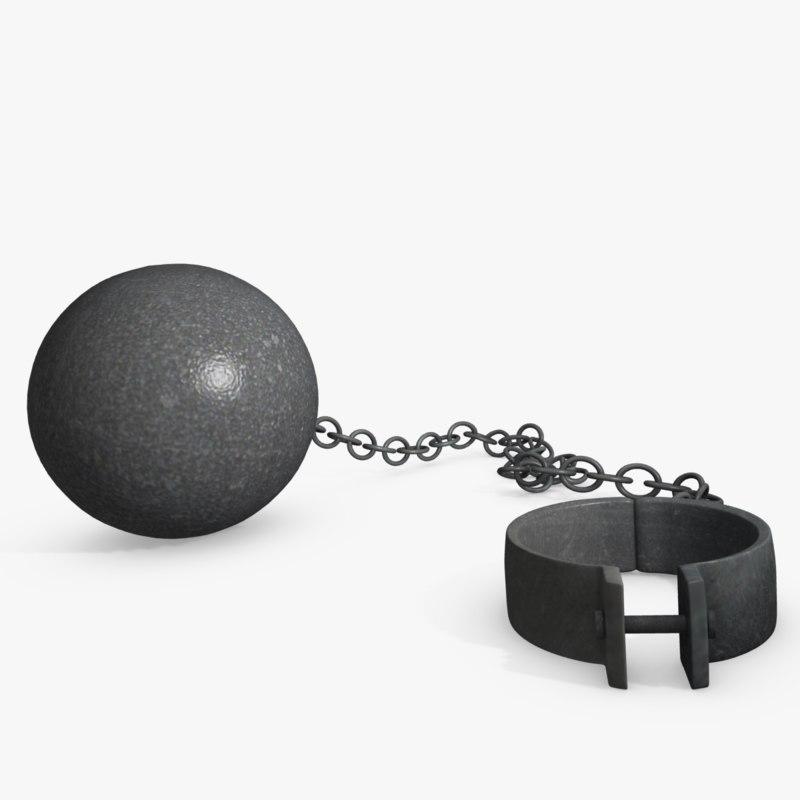 ball chain 3d model