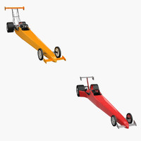 Top Fuel Dragset Set