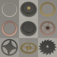 clock wheels