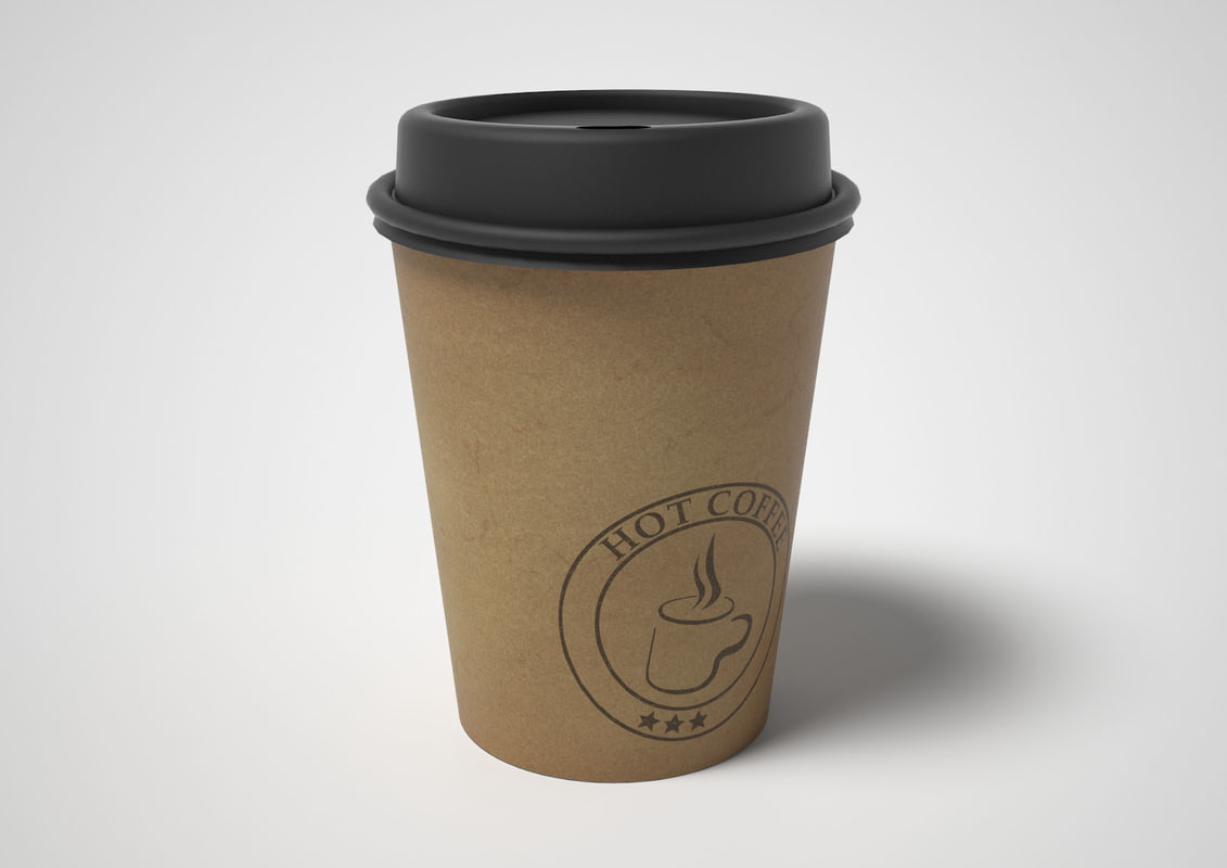 Coffee 3d model for Coffee to go