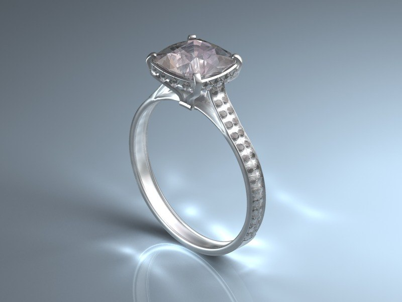diamond ring 3d max