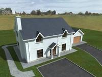 single house 3ds