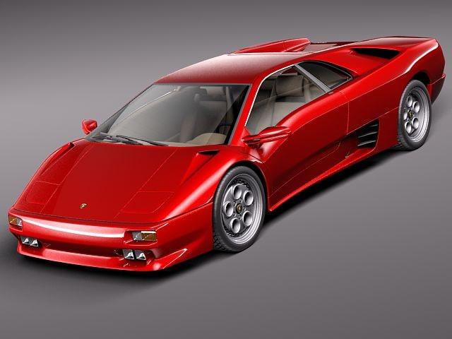 3d Lamborghini Diablo Gt Sport