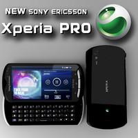 xperia pro 3d model