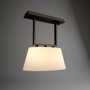 3d model promemoria agatha suspended lamp