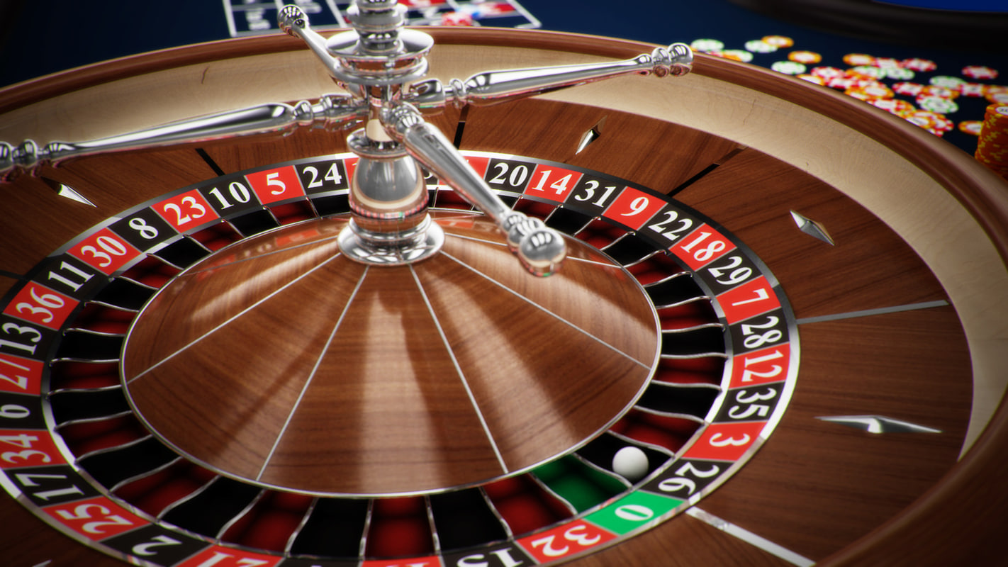 3d roulette table model. Black Bedroom Furniture Sets. Home Design Ideas