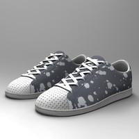 3d model cheetah3d sport boots