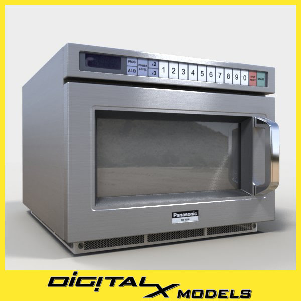 3ds commercial microwave oven