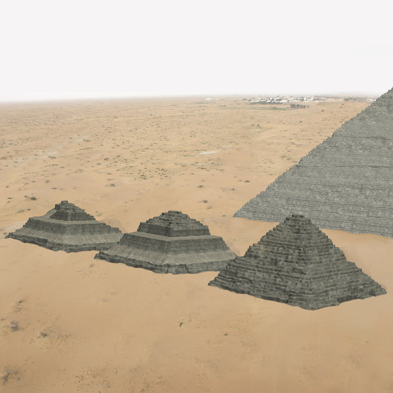 3ds max queen pyramids