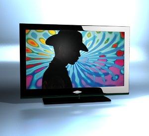 c4d generic led tv