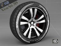 custom rim tire 2 3ds