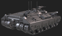 T-28 Heavy Tank - HighPoly And Lowpoly