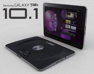 3d model samsung galaxy tab
