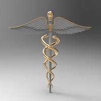 3d medical symbol model