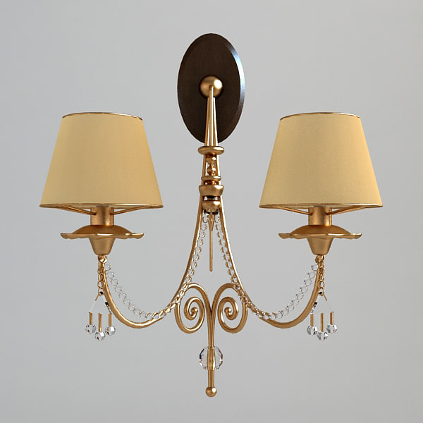 3ds max wall light