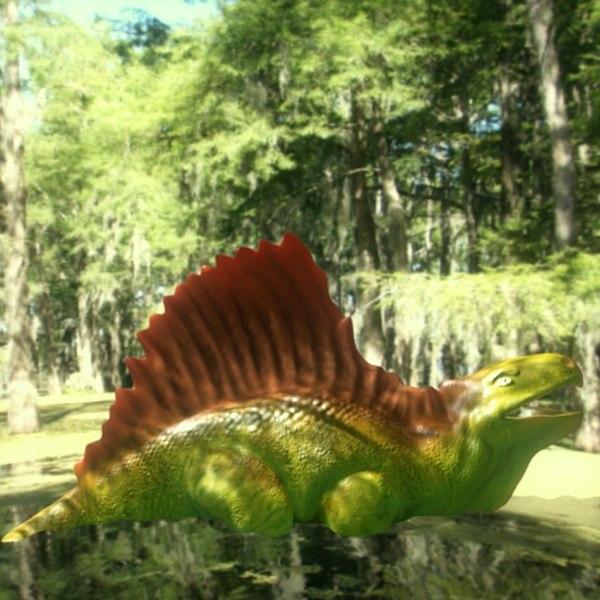 metriacanthosauras 3d model