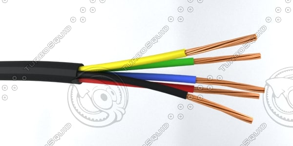 maya 5 core cable