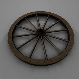 maya wagon wheel
