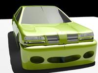 free max mode car cop body