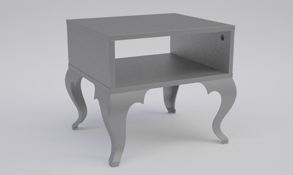 bedside table trollsta 3d 3ds