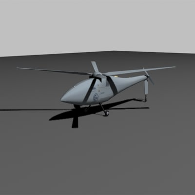 a160 helicopter 3d model