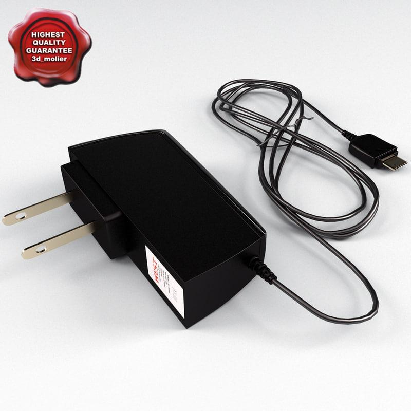 charger samsung 3d model