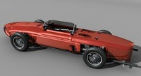 racing car 3d 3ds