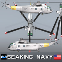 SEAKING Sikorsky SH-3 Sea King