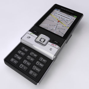 mobile phone sony ericsson 3d max