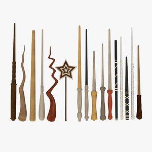magic wands 3d max