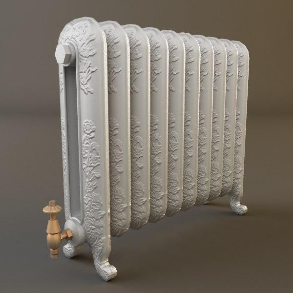 heater materials 3d max