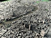 3d model london landmarks