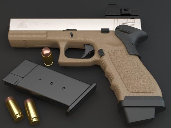 3d glock 18c