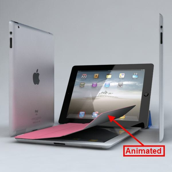 3d apple ipad2 wi-fi 3g