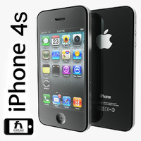apple iphone 4s 3d max