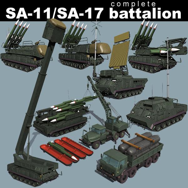 3d battalions sa-11 sa-17