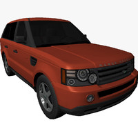 Range Rover Sport Lowpoly