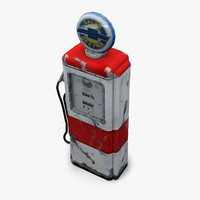 3ds max 50 gas pump