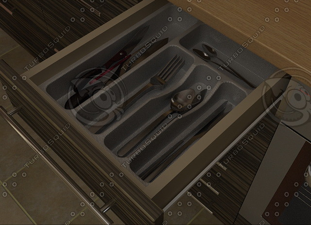 cutlery support 3d model
