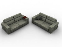 3d sofa places support