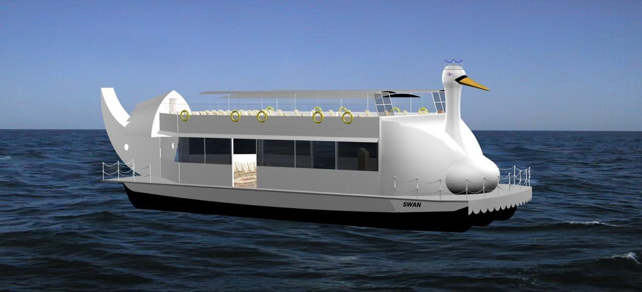 swan - recreational boat max