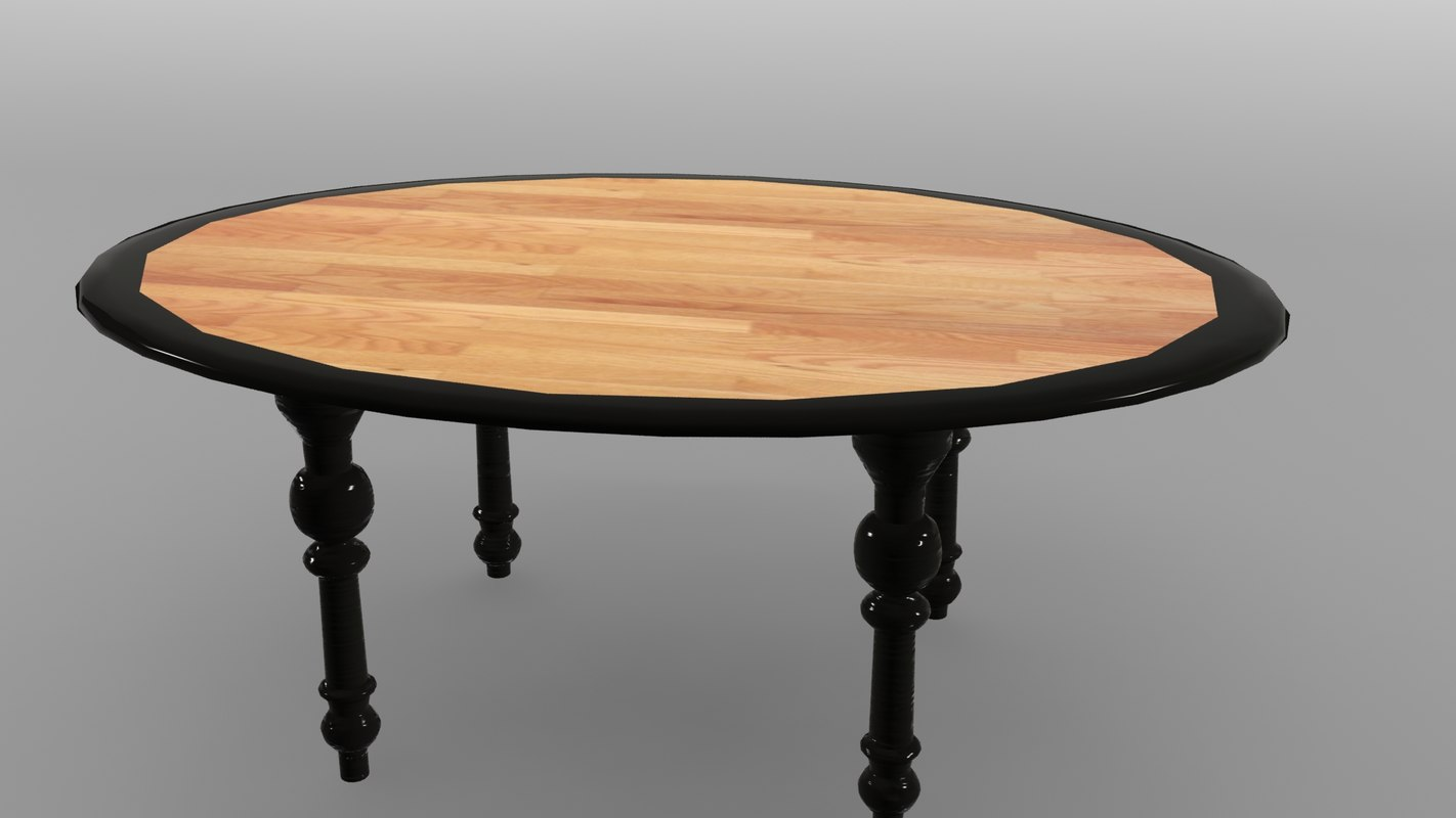 wooden table max