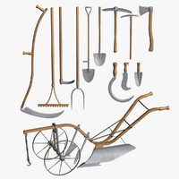 cinema4d set farm implements