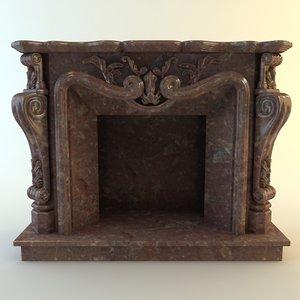 3d fireplace materials