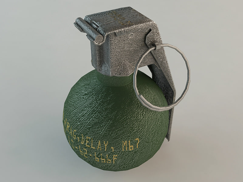 3ds m67 grenade