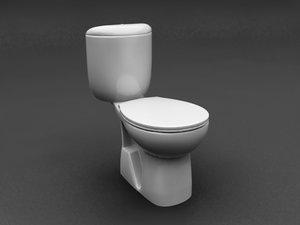 lavatory seat 3d max