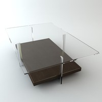 Contemporary Table Glass Top