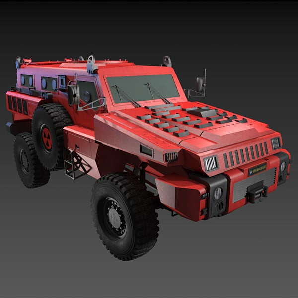 3d model of paramount marauder